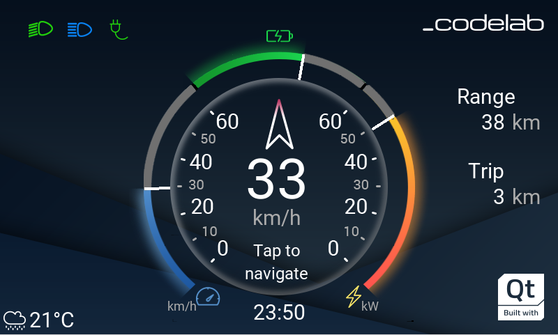 Qt for MCUs. Instrument Cluster for Golf cart. A developer's perspective.